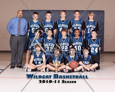Frontier Boys Basketball 2010-11