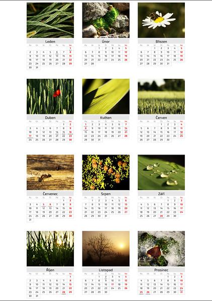 Kalendář Na cestách 2017 / Travels 2017 Calendar