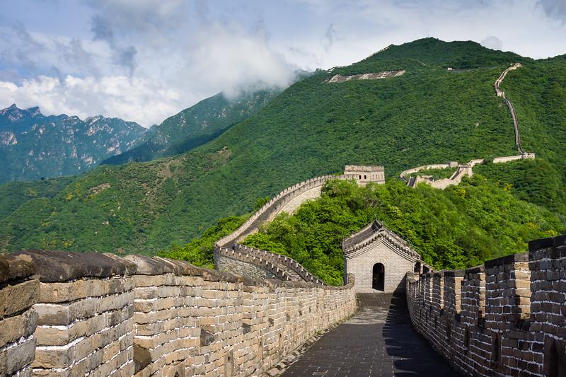 Great Wall at Mutianyu, China