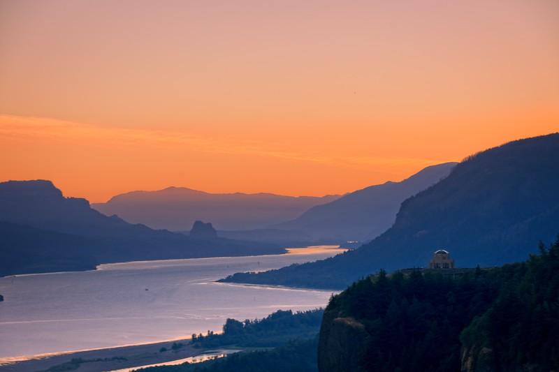A Crown Point Sunrise.