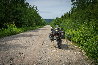 07-22 to 25 NB Gravel ride Part 1