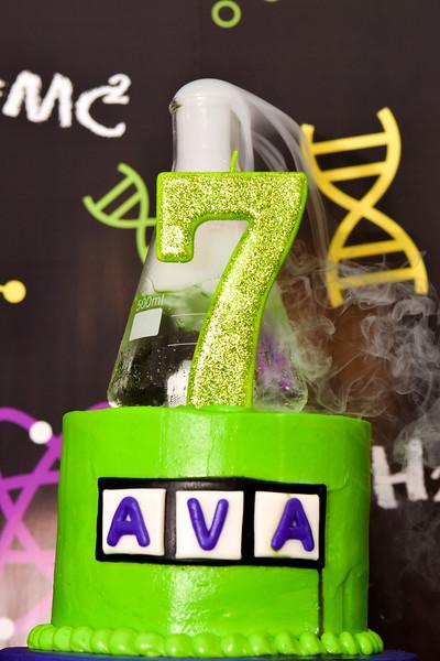 Ava 7 Science Party