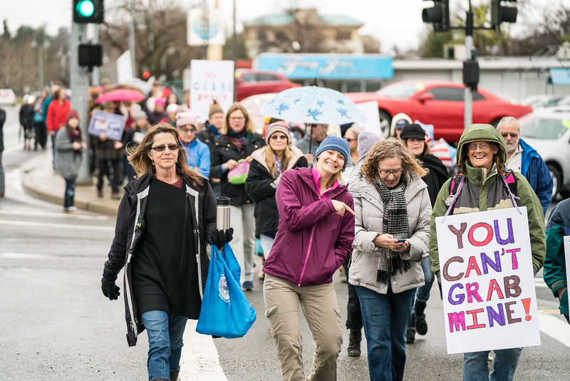 Women's March Redding