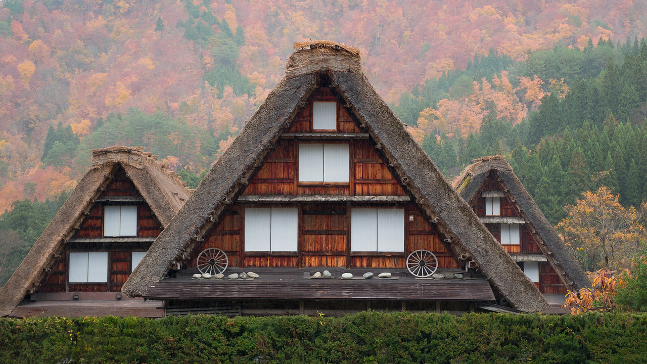 shirakawago ogimachi three houses