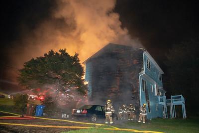 Rodia Ridge Rd. Fire (Shelton, CT) 10/9/18