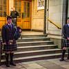Pipers in George Street, Edinburgh