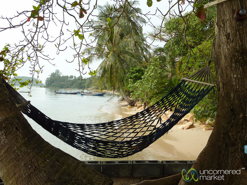 A Hammock to Relax on Beach - Koh Samui, Thailand