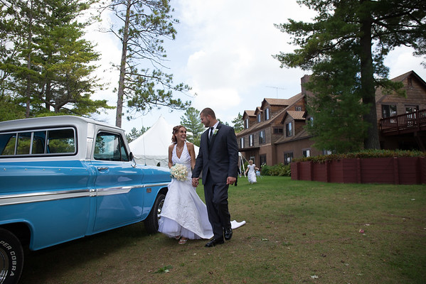 Northern Shore Lodge Wedding Photography Hillman, Northern Michigan