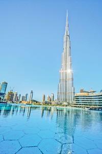 Burj Khalifa, Dubai - 2017 The world's Tallest Building