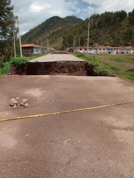 Road Destruction