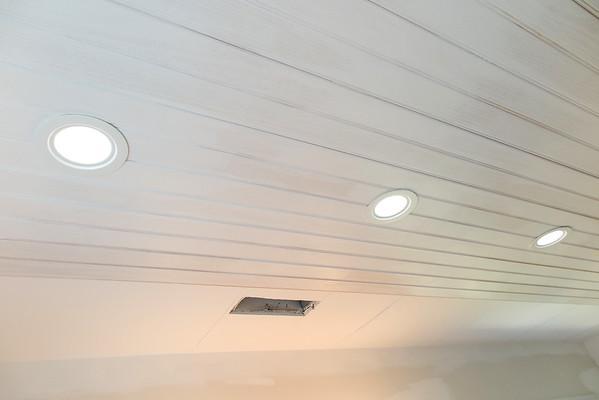 Bathroom Mod Blog Three - Ceiling and Plumbing