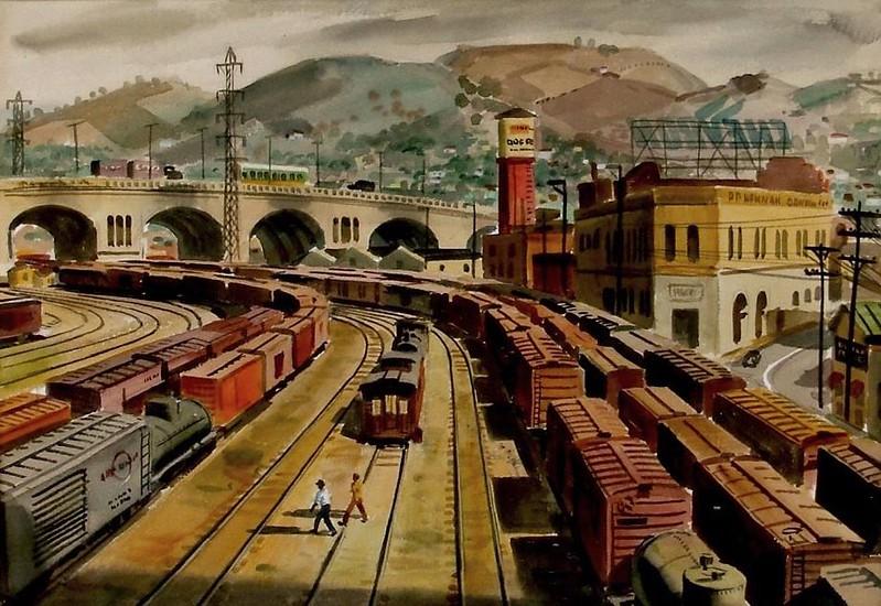1947, Charlie Allen's Painting