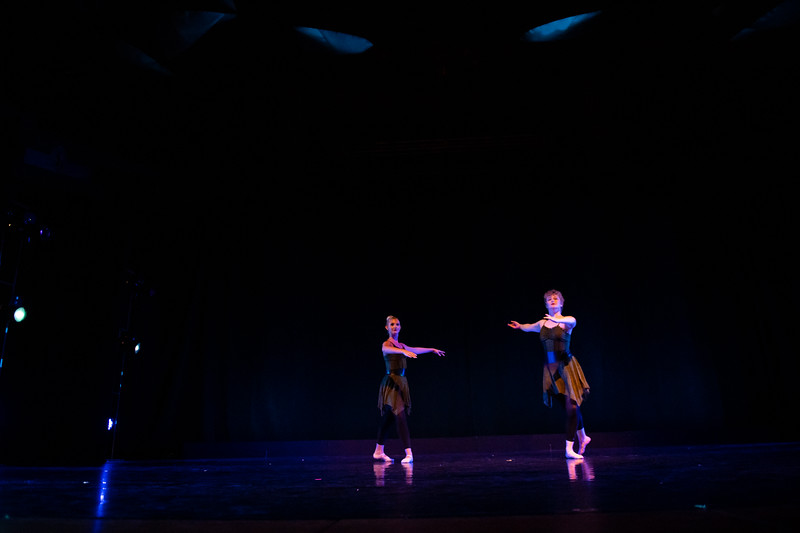 """Silence in the Forest,"" choreographed by Jilissa Cotten, was performed by Ballet II in the fall 2018 Island Dance Demo."