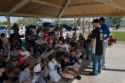 June 16th, 2010 Cody Ross visits Bucky Dent's Baseball School