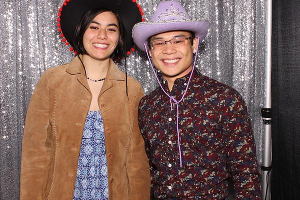Christina & Tri Photobooth Individual Photos