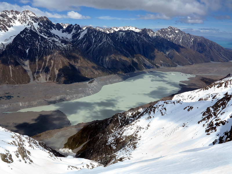 Leibig Range and Tasman Lake