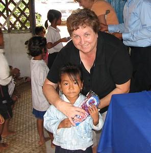 2008 School Visit & Ceremony