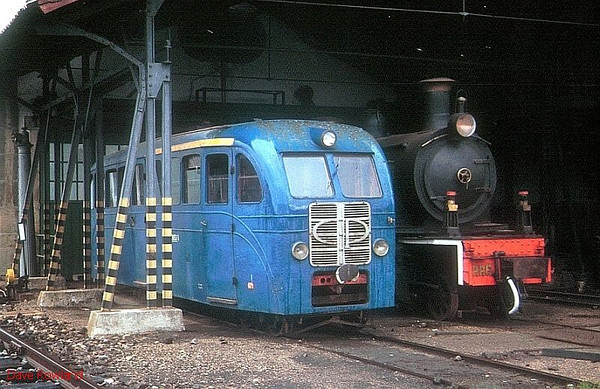PORTUGAL: Narrow Gauge Locomotives, Units & Railcars 1990-92