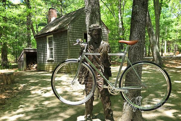 Walden Pond Thoreaus Cabin