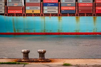 Detalles del Puerto de Algeciras