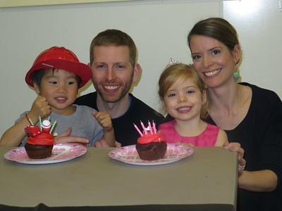 Mila & Bennett's 4th Birthday Party