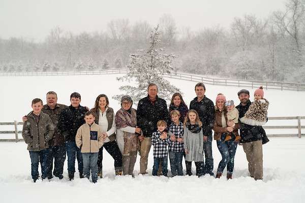 Gruber Fam | Wisconsin Winter Family Photography