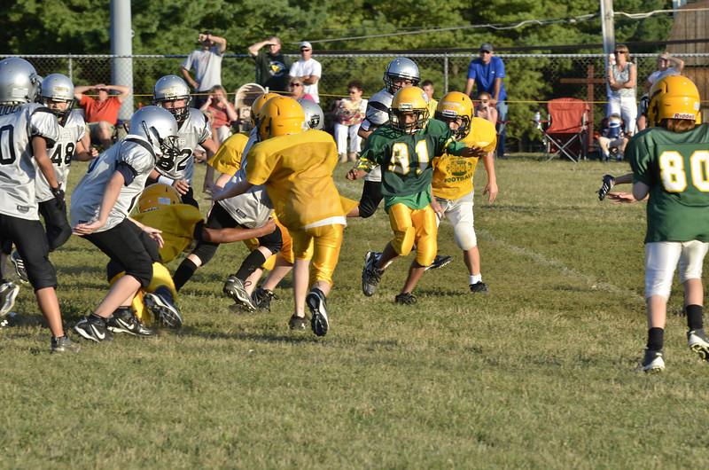Wildcats vs Raiders Scrimmage 143.JPG
