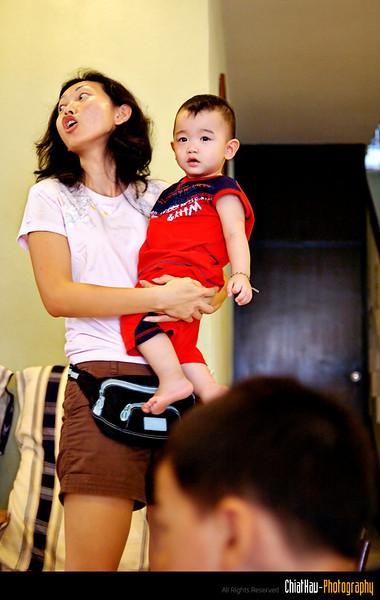 Mummy + Chien is here...!