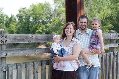 Family Pictures on Bridge