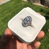 1.75ctw Edwardian Toi et Moi Old European Cut Diamond Ring  75