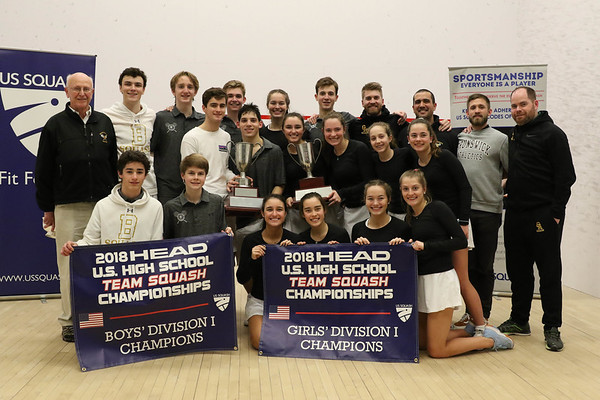 2018 HEAD U.S. High School Team Squash Championships