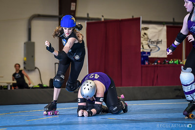 2016-03-04 Wild West Showdown Rosebuds v Santa Cruz