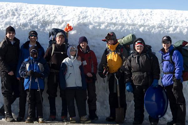 Snowcaving 2010