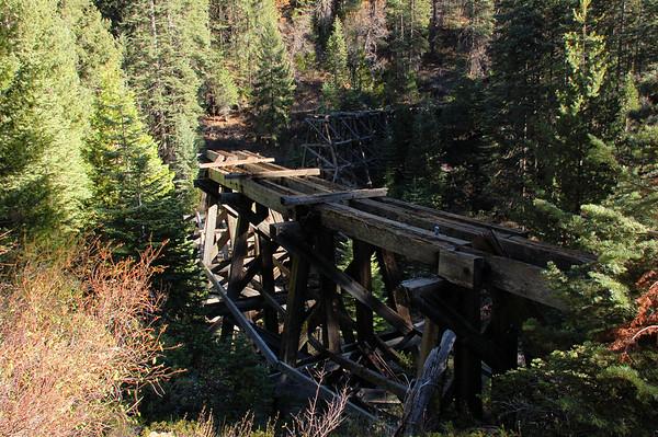 Westside Lumber Company, Bourland Trestle