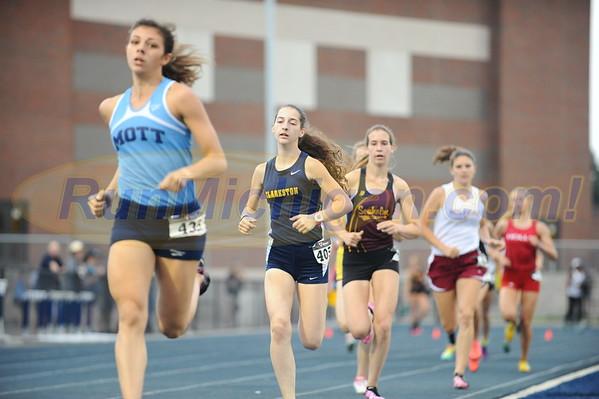 Girls' 800 Meter Run - 2016 Oakland County T&F