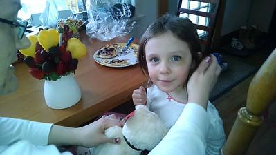 Maddie v. Valentine's Gift from Grandma Penny