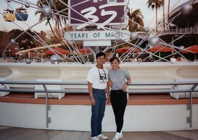 Mary tang cliff Disneyland 1990