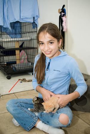 Ayelet & Our Foster Kitties