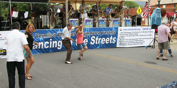 Dancing in the Streets..It is BACK..in Vermilion, Ohio, July 2014
