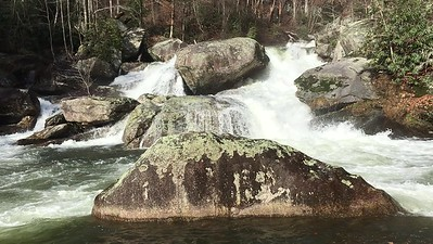 Dec. 29, 2018 -- Waterfall tour