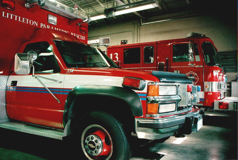 Rescue 13 and Engine 13 in Quarters
