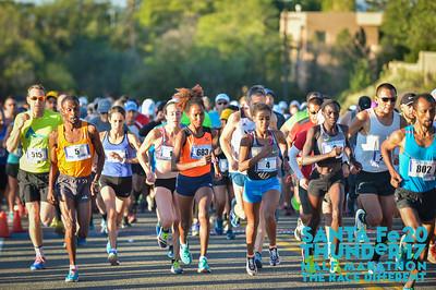 Pre-Race & Start for 1/2 Marathon