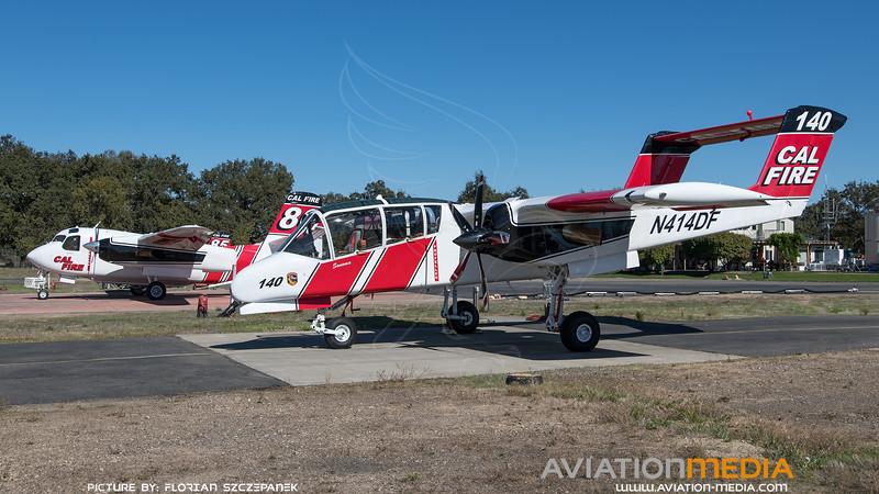 CAL Fire / North American OV-10A Bronco / N414DF