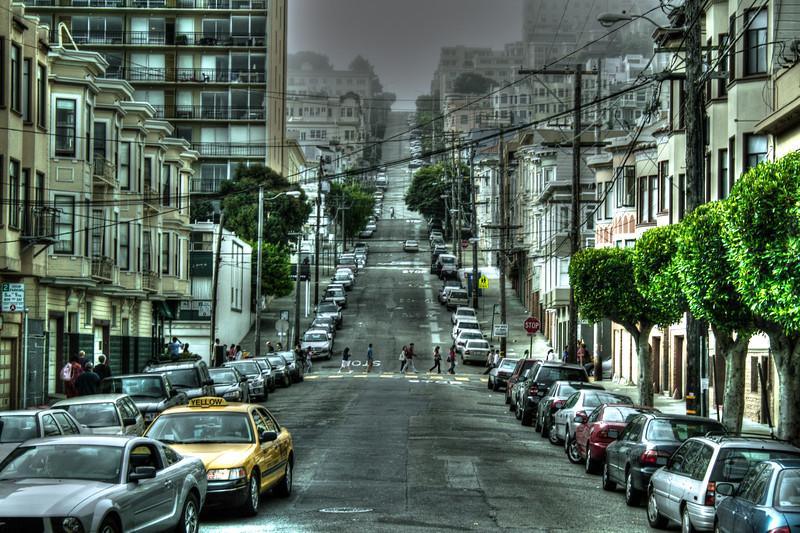 San Francisco Streets, San Francisco, California