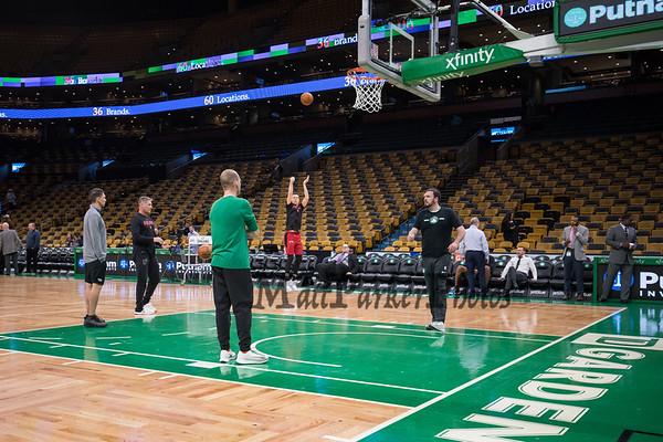 2019-4-1 Boston Celtics vs Miami Heat...under construction