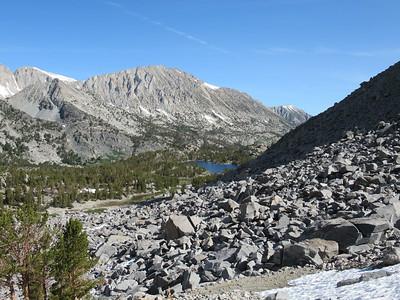 Sierra -- Little Lakes Valley  7-19