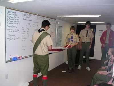 Troop Meeting - May 2