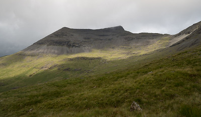 Ben More solo from the wrong side July 2018
