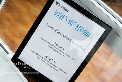 2013 Dave's 40th Birthday