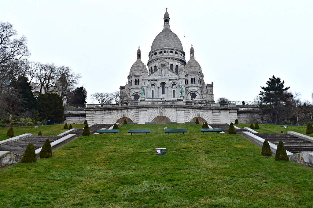 Sacré-Cœur in Paris, France